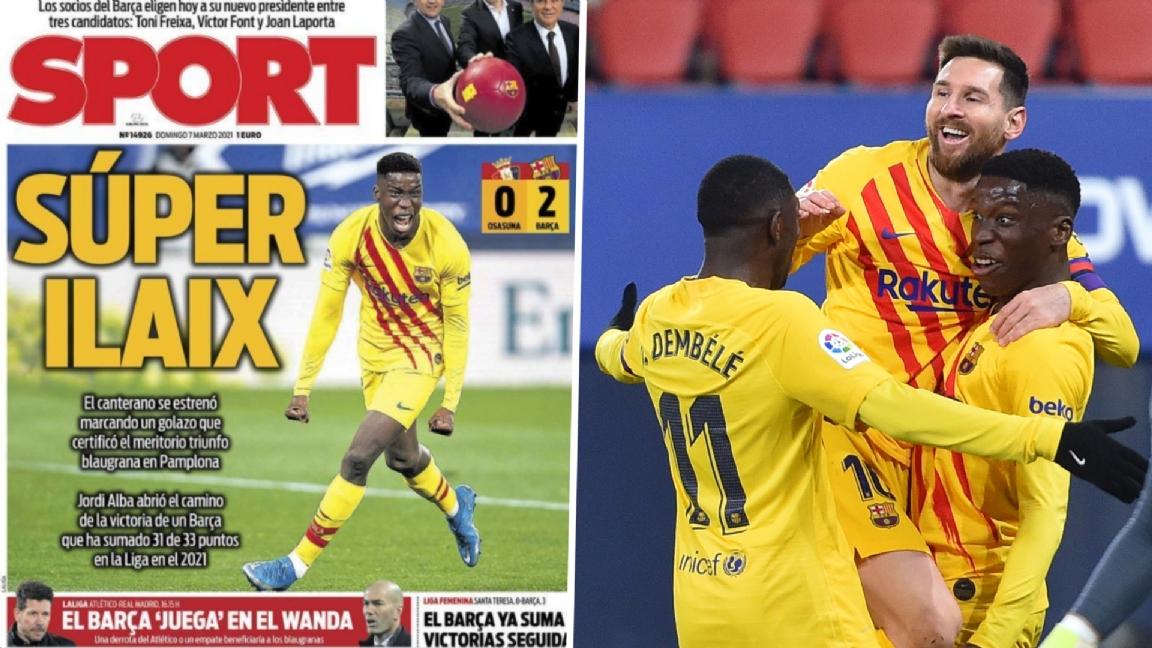 Kranten loven Koeman en 'Súper Ilaix': 'Zes kinderen voor tien jaar' - Voetbalzone.nl