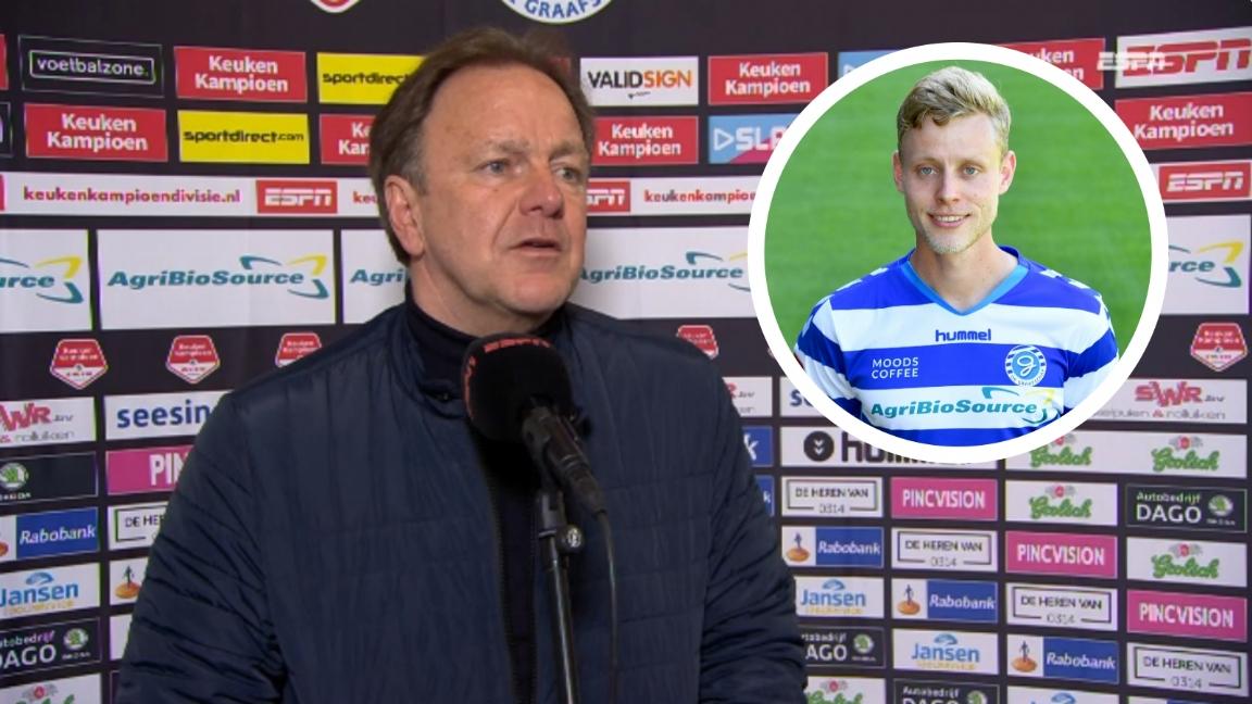 Snoei is hard voor Dekker na vernederende wissel bij De Graafschap - Voetbalzone.nl