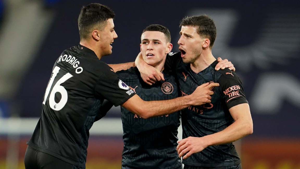 Manchester City schrijft historie na zeventiende overwinning op rij - Voetbalzone.nl