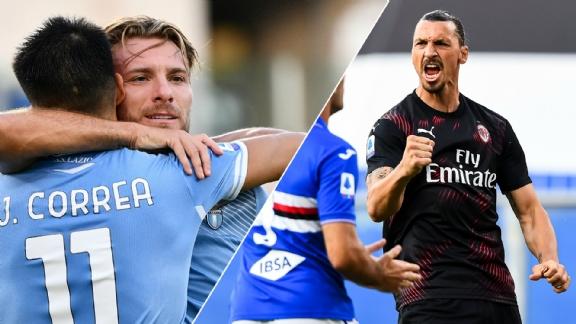 Immobile op weg naar geschiedenisboeken; Ibrahimovic schittert voor Milan