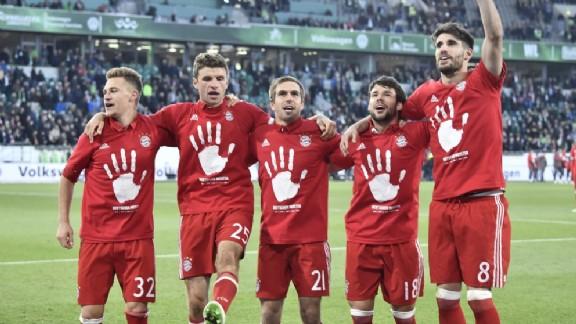 Bayern München voor vijfde keer op rij kampioen van Duitsland