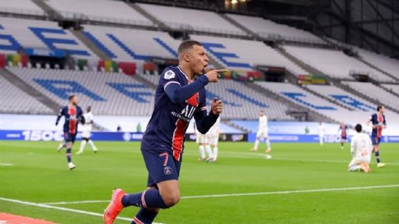 Ongrijpbare Kylian Mbappé van grote waarde voor PSG in Marseille - Voetbalzone.nl