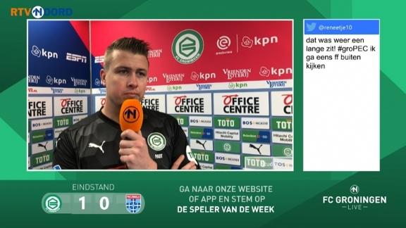 Geïrriteerde Sergio Padt: 'Niet logisch dat het direct op Twitter verschijnt' - Voetbalzone.nl