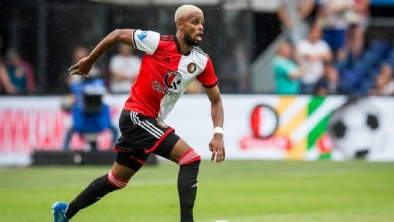 278c08b0006137 Jeremiah St. Juste wordt de afgelopen weken regelmatig in verband gebracht  met een uitgaande transfer bij Feyenoord. Vooral Fiorentina wordt gelinkt  met de ...