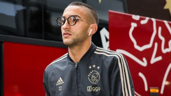 Hakim Ziyech ontbreekt door blessure in belangrijk Champions