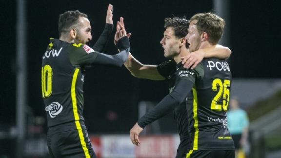 Go Ahead Eagles boekt vijfde uitzege op rij een verstevigt vijfde plek - Voetbalzone.nl