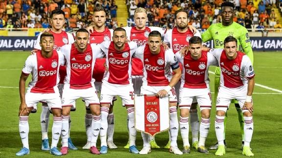 opstelling Ajax - Apoel