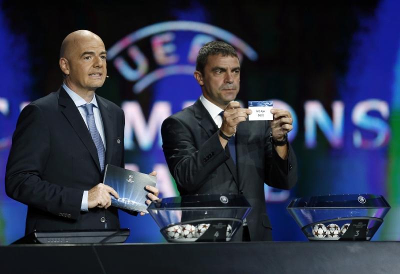 Champions League Loting Picture: UEFA Kondigt Wijzigingen Aan In Opzet Loting Voor